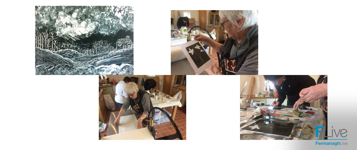 Monotype Printmaking Workshop with Michael Brown