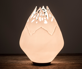 Contemporary Porcelain by Wendy Ward, Lminescence: